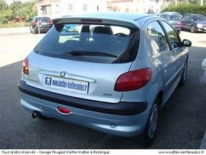 Peugeot 206 Essence : peugeot 206 1 6 essence 2001 pi ces de rechange pour le train roulant ~ Medecine-chirurgie-esthetiques.com Avis de Voitures