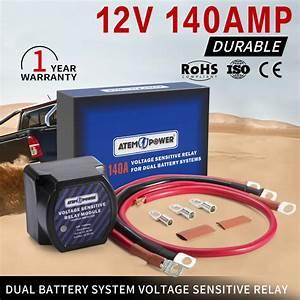 Voltage Sensitive Relay 12v Vsr Isolator 140a Dual Battery