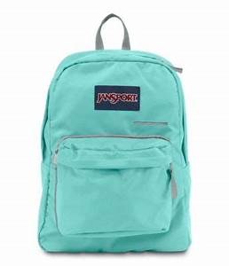 Image Gallery mint backpack