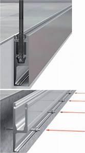 Applique Pour Terrasse : profil de fixation en applique pour garde corps en verre ~ Edinachiropracticcenter.com Idées de Décoration