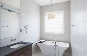 isoler une fenetre dans la salle de bain design feria With porte d entrée pvc avec rideau de salle de bain fenetre