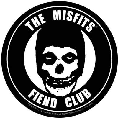 Misfits- Fiend Club embroidered patch (ep164) | Misfits ...