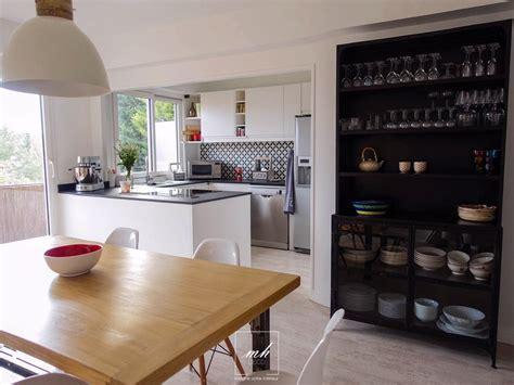 aménagement cuisine ouverte sur salle à manger amenager salle a manger
