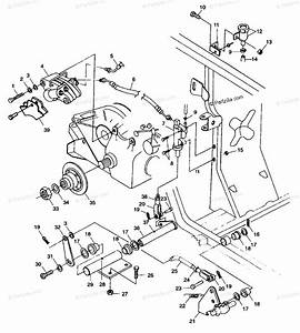 Polaris Atv 1998 Oem Parts Diagram For Rar Brak  Foot Pdal