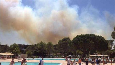 incendie pres de frejus  hectares incendies
