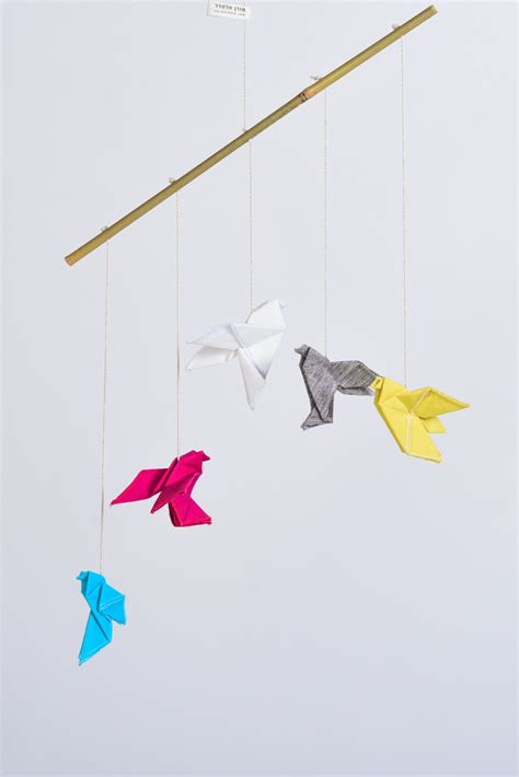 Origami Boat Mobile by 20 Baby Mobile Ideas That Grown Ups Will