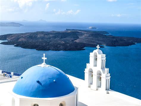 The Caldera View Of Fira Santorini Greece Life To Reset
