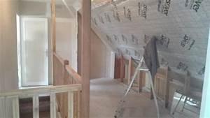 Ouverture De Toit : ouverture de toit avec velux 114x118 et habillage du mur othis 77280 seine et marne d tail ~ Melissatoandfro.com Idées de Décoration