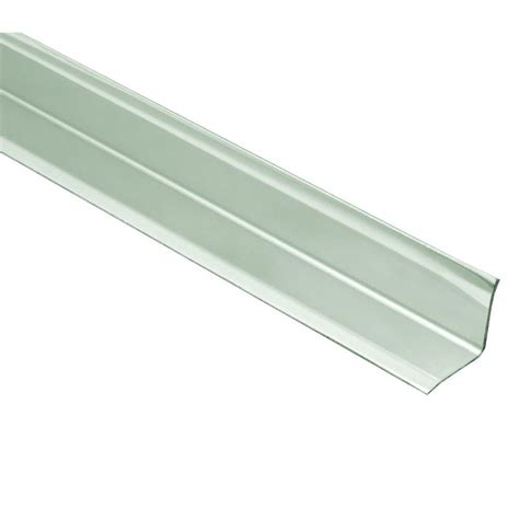 home depot tile edging schluter eck ki stainless steel 9 16 in x 4 ft 11 in