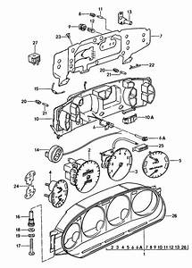1984 Porsche 928 Instrument Cluster  Comb  Instrument  Cdn