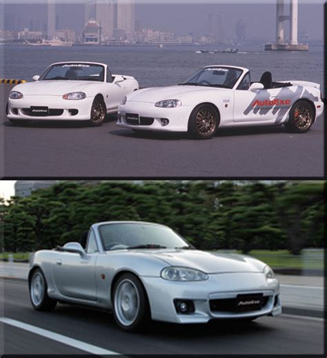 mx 5 nb tuning autoexe mazda mx 5 nb roadster miata modification performance tuning racing parts sun vigor