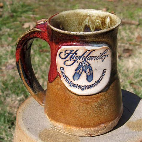 Vintage fire king mcdonald's coffee mug usa made. Logo Mugs | Smoke in the Mountains Pottery