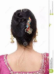 Hair Style Of An Indian Woman Stock Images Image 9364064