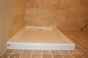 Stone Shower Bases by Acrylic Shower Bases C 233 Ramiques Hugo Sanchez Inc