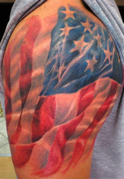american flag tattoo designs | Tattoo Art by Itattooz