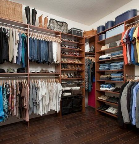 Shared Closet Organization Ideas by 43 Highly Organized Closet Ideas Closets Diy
