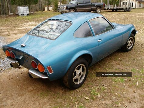 1971 Opel Gt by Picture Of 1971 Opel Gt Exterior