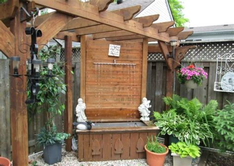 40 Backyard Wall Fountains Ideas Feng Shui With Water