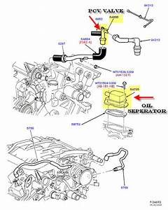 Remove Oil Separator  - Under The Hood