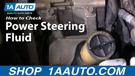 auto repair   checkadd power steering fluid
