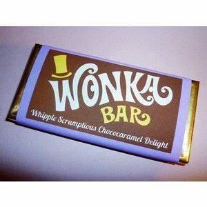 wonka bar wrappers wonka bar candy bar wrapper template With willy wonka candy bar wrapper template