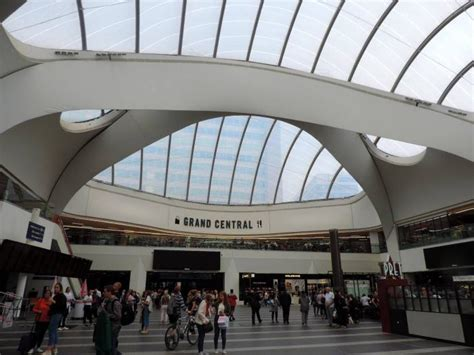 birmingham  street station  grand central shopping