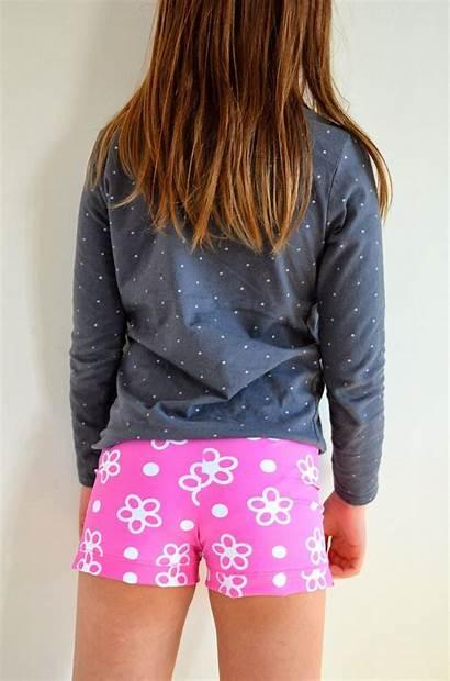 Shorts Gym Stretch Gymnastics Skirts Sewing Tutorial