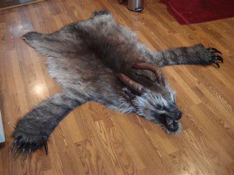 real skin rug skin rug neatorama