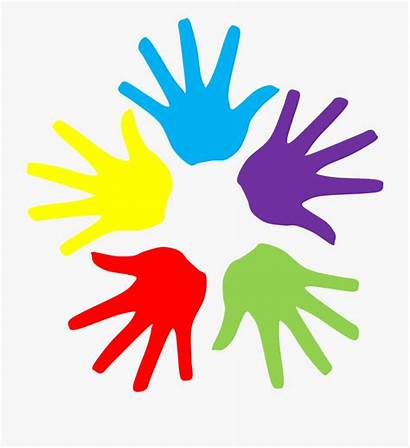 Hands Clip Clipart Colorful Colourful Trend Cartoon