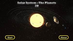 Solar System - The Planets 3D for Windows 8 and 8.1