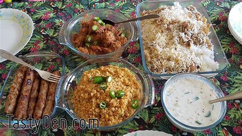 Menu Ideas For Pakistani Dawat Tastyden
