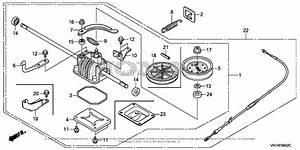 Honda Hrx217k4 Vkaa Lawn Mower  Usa  Vin  Maga