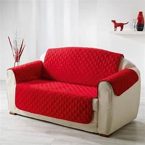 protege canape matelasse quotclubquot 223cm rouge With canapé matelassé design