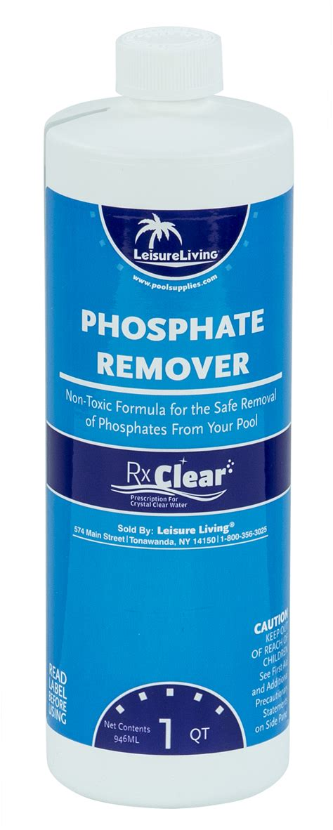 rx clear phosphate remover poolsuppliescom