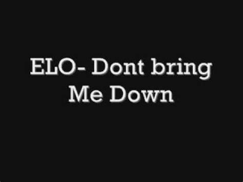 elo dont bring   youtube