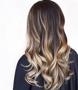 Balayage Cheveux Frisés : un balayage blond sur cheveux bruns est ce possible ~ Farleysfitness.com Idées de Décoration