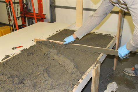 how to make concrete countertop remodelaholic diy concrete countertops in a beautiful