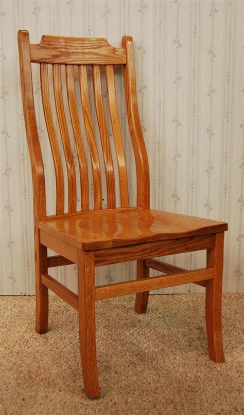 mission side chair de vries woodcrafters
