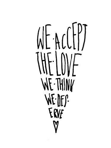 Perks of Being A Wallflower tattoo idea | Favorite quotes, Love quotes, Quotes