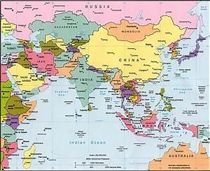 List eastern asian countries
