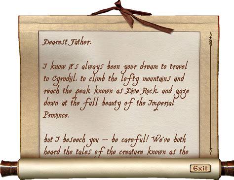 daedric sword collectors edition letter opener the elder andre s letter elder scrolls fandom powered by wikia 12072
