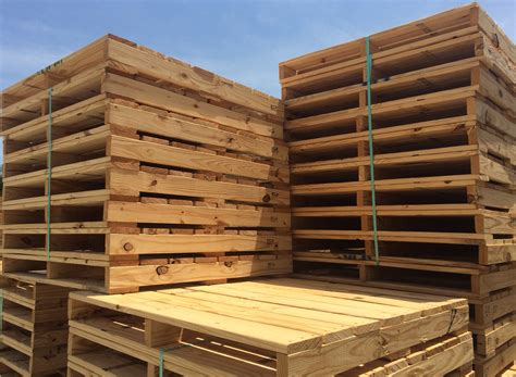 pallet industries  recycled wooden pallets