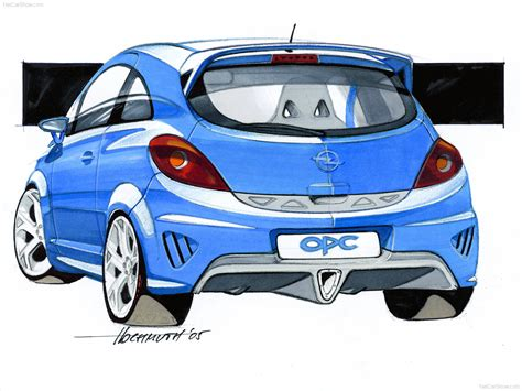 Opel Corsa OPC picture # 66 of 69, Design Sketches, MY ...