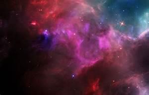 Wallpaper Space nebula, stars, space, bright, nebula, glow ...