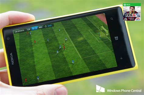 fifa 14 heads out the tunnel on windows phone windows central