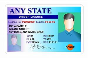 Fake driver license and false documents can raise fraud for Documents for driving licence test