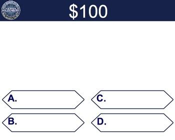 Who Wants To Be A Millionaire Blank Template Powerpoint by The Gallery For Gt Who Wants To Be A Millionaire Blank