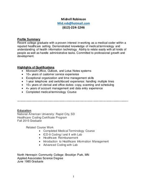 Coder Resume by Coder Resume
