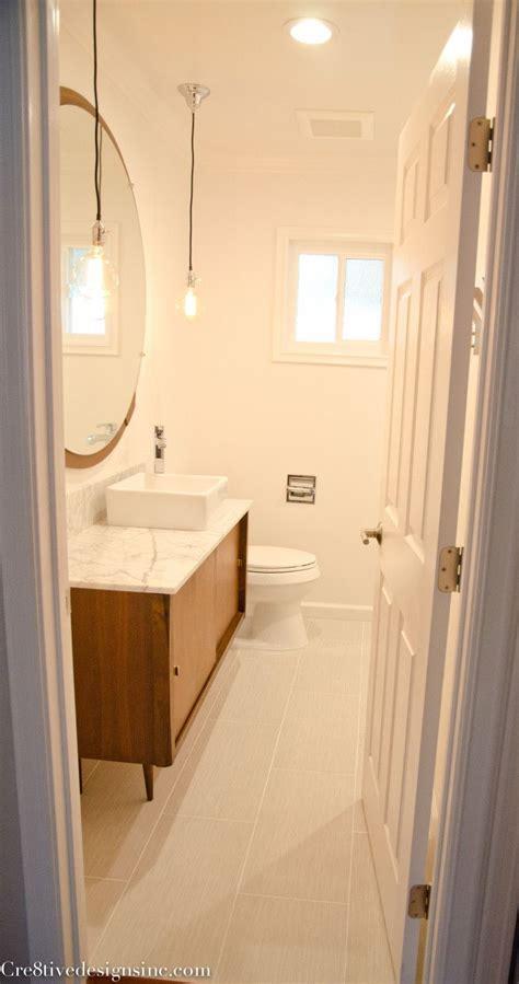 mid century modern bathroom vanity  bathrooms