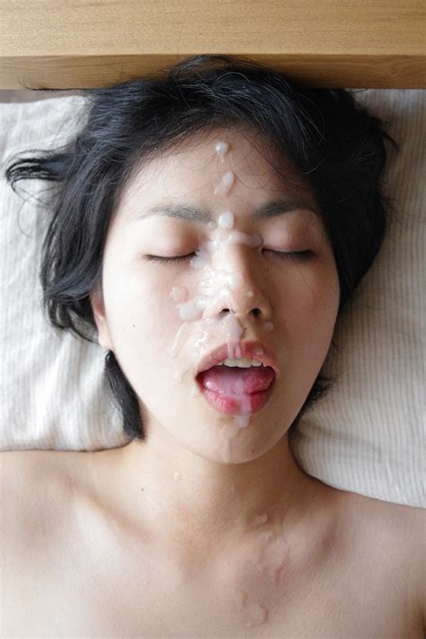 Asian Japanese Amateur Wife Cumface From Net | High Quality Porn Pic